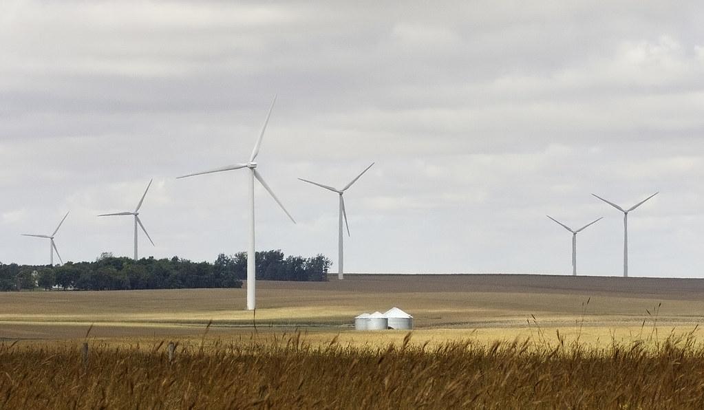 Farm Field and Wind Generators