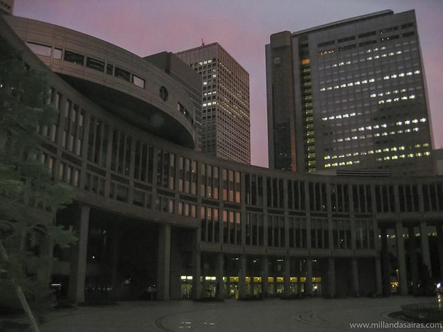 Metropolitan Goberment Building en Shinjuku
