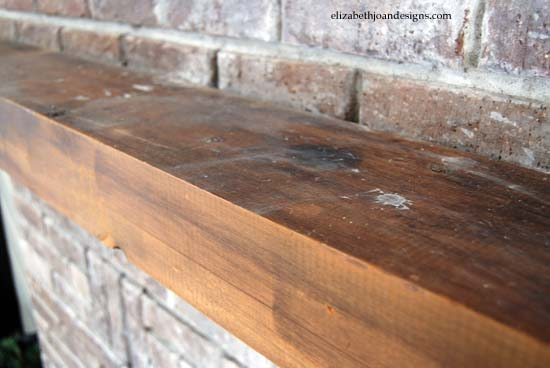 Staining Mantel 1