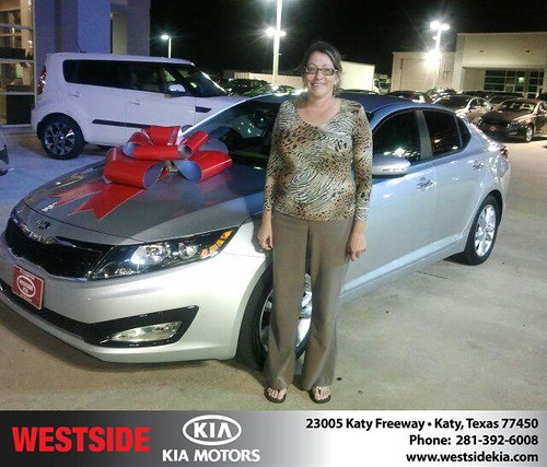Happy Birthday to Lisa Mckay from Gil Guzman and everyone at Westside Kia! #BDay by Westside KIA