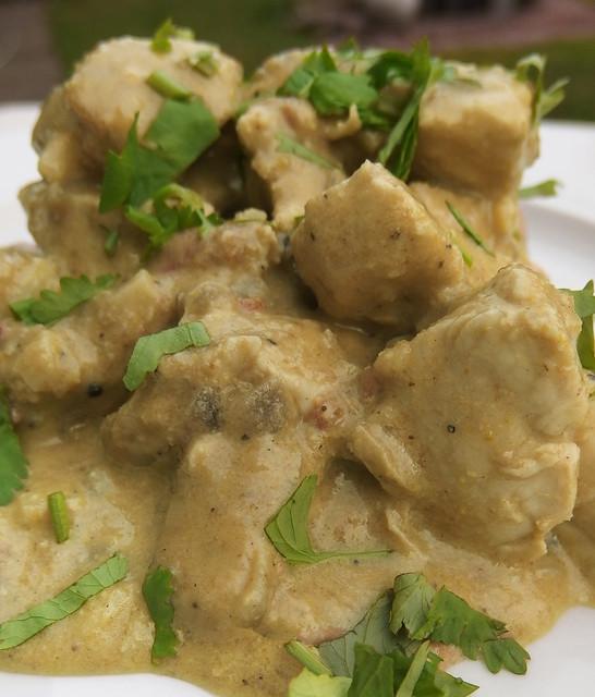 Kip Korma met pistache
