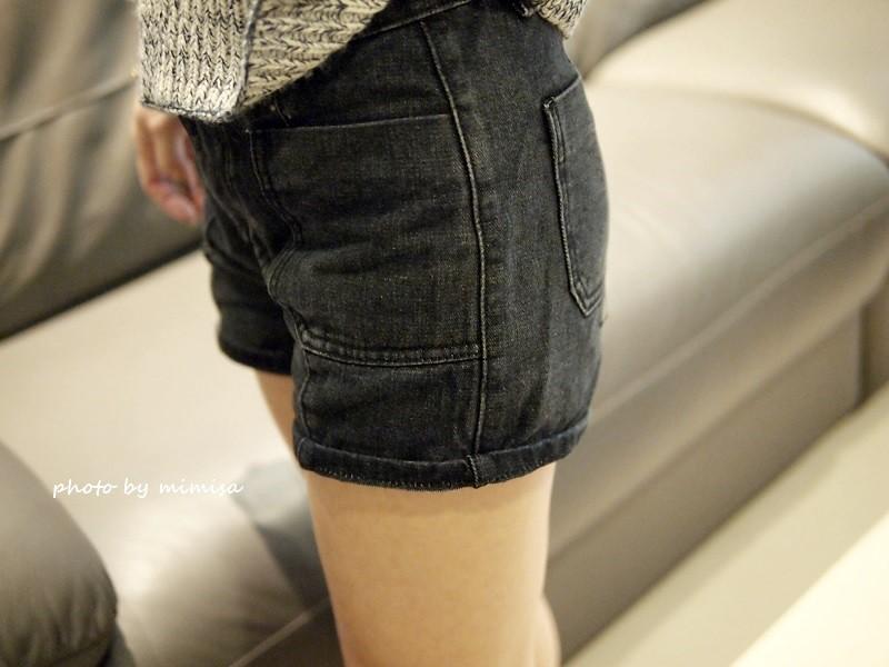 Queen Shop 毛衣 牛仔短褲 (13)