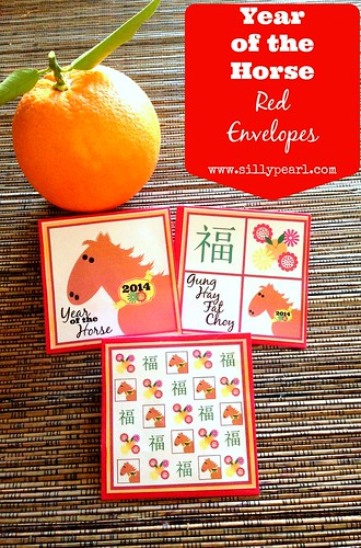 Year of the Horse Red Envelopes - The Silly Pearl