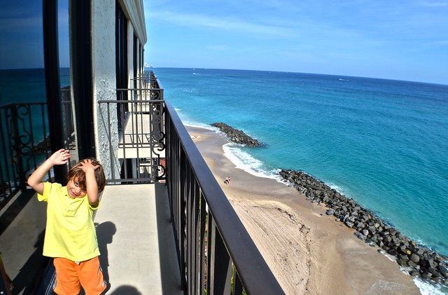 The Breakers Hotel, Palm Beach, Florida - view from our room