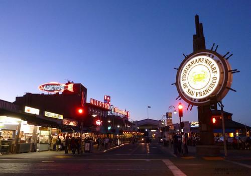 street city blue people usa architecture night america restaurant pier us store fishing strada unitedstates blu edificio persone pesca ristorante notte città negozi statiuniti flickrsfinestimages1 andreamoscato