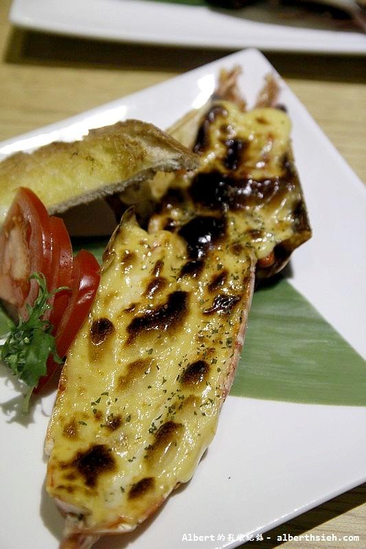 台北大同.若獅子和食:海膽醬烤明蝦