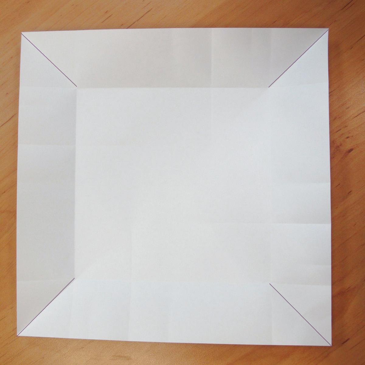 สอนการพับกระดาษเป็นที่ใส่ของรูปกลีบกุหลาบ (Rose box origami) 024