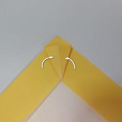 สอนวิธีพับกระดาษเป็นรูปลูกสุนัขยืนสองขา แบบของพอล ฟราสโก้ (Down Boy Dog Origami) 018
