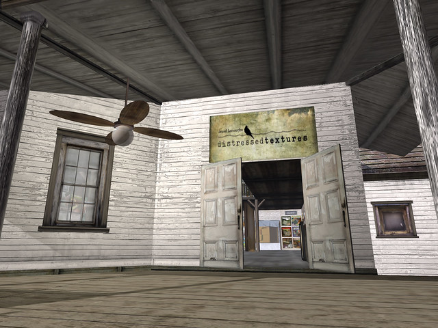 My favourite Second Life stores: Distressed Textures