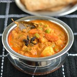 Mixed Vegetable Kurma Recipe