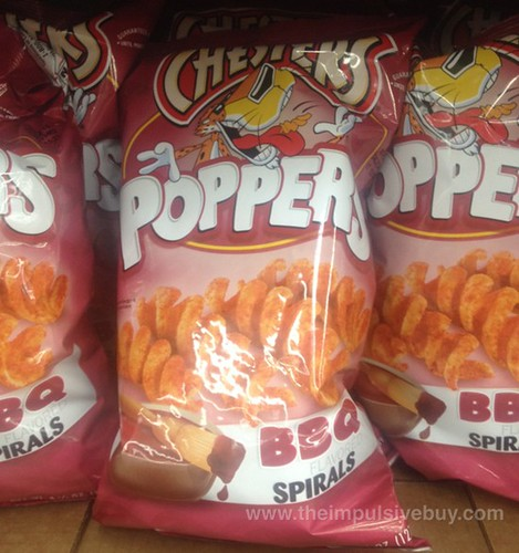Chesters Poppers BBQ Spirals