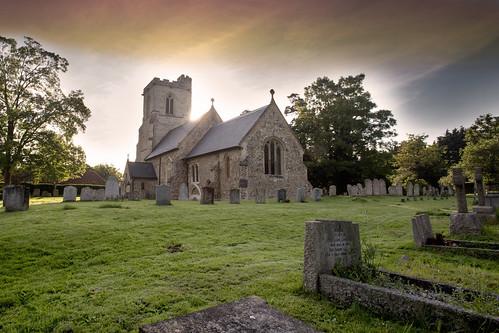 sunset sky church grave graveyard landscape twilight village graves hertfordshire willian churchspire churchofengland villagechurch hertfordshirelandscape