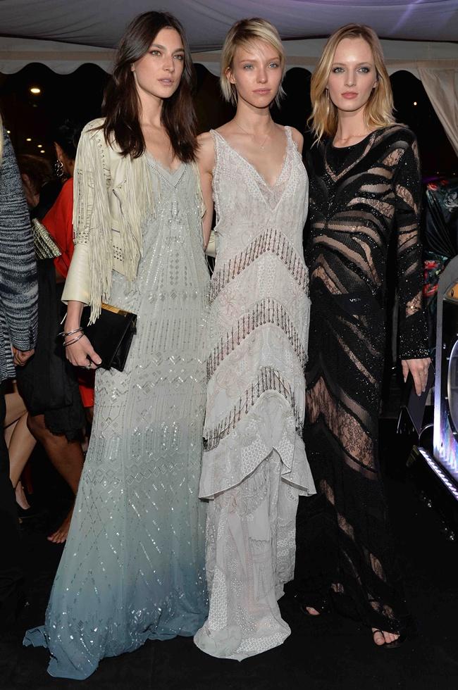 1 Jacquelyn Jablonski, Sasha Luss, Daria Strokous all in Roberto Cavalli at Roberto Cavalli Dinner Party in Cannes