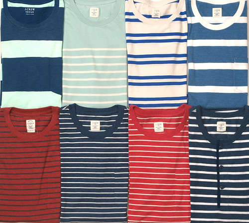 J.Crew / Striped T-Shirts