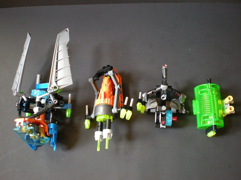 Review 44028 Surge Rocka Combat Machine Lego Action Figures
