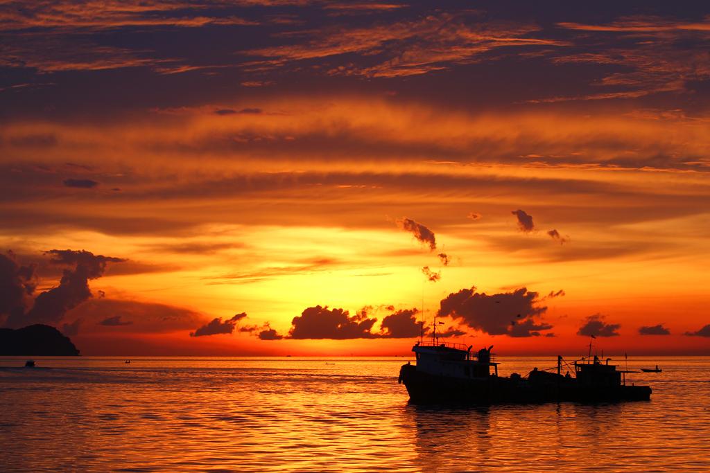 Sunset|Sabah Malaysia