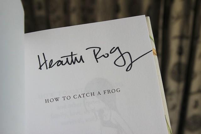 meeting heather ross.......