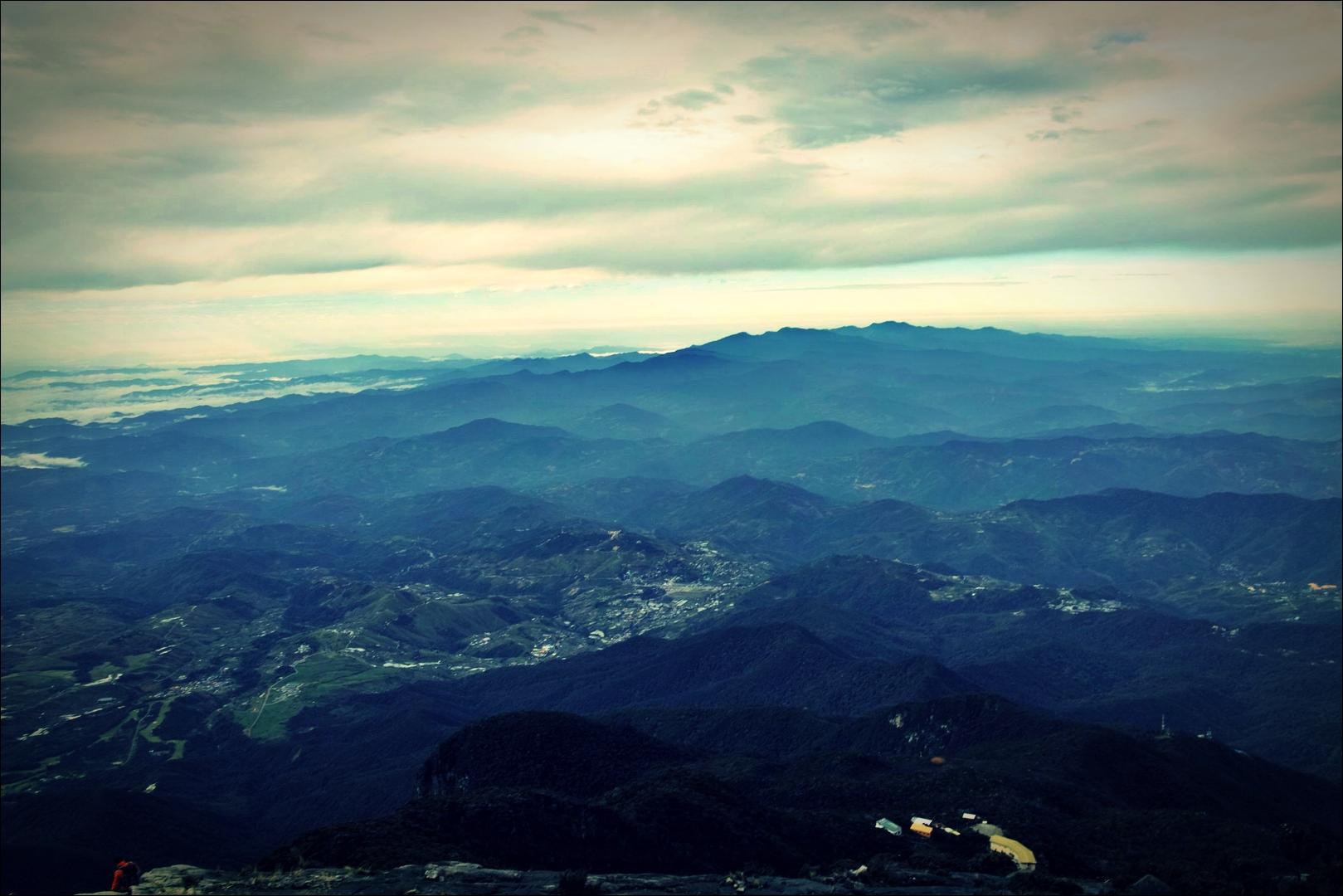 비 온 뒤-'키나발루 산 등정 Climbing mount Kinabalu Low's peak the summit'
