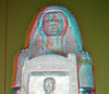Tomb Statue Raia with Ptah 3D