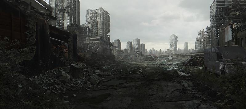 City ruin