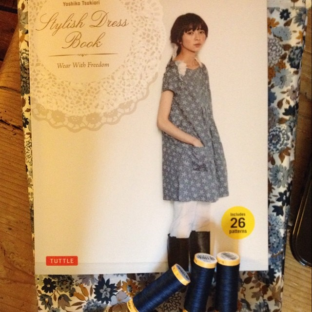 More dressmaking plans #dress #dressmaking #fabric #patterns #japanese