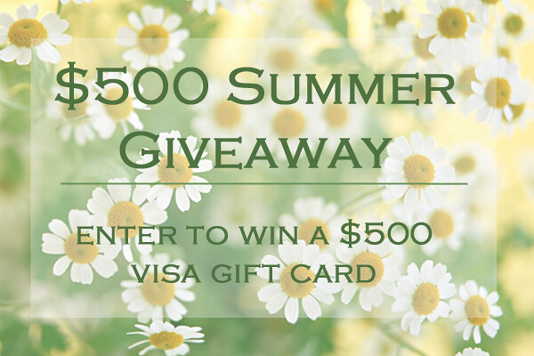 $500 Summer Giveaway on #LivingAfterMidnite