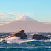 Rough Sea and Mt Fuji - II [Explore] by -TommyTsutsui- [nextBlessing]