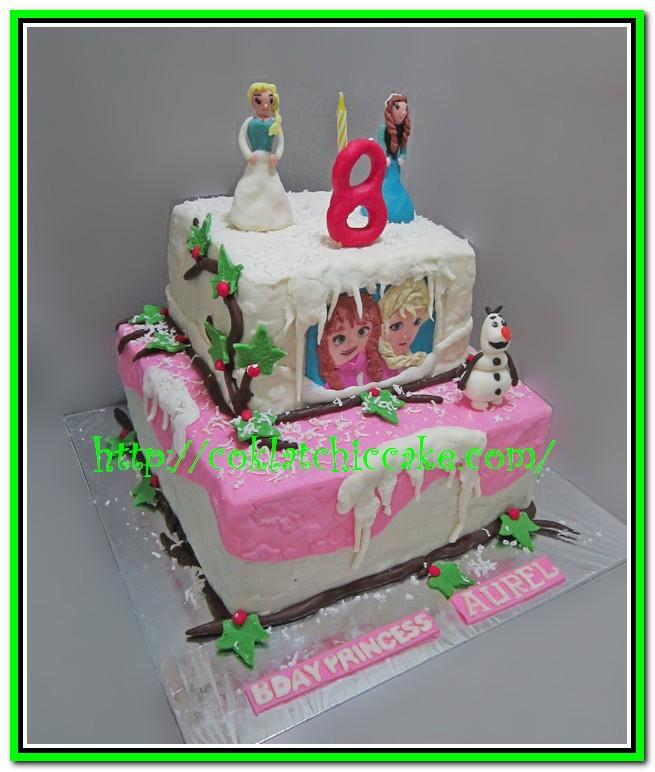 Kue ulang tahun disney the frozen   AUREL Jual Kue Ulang ...