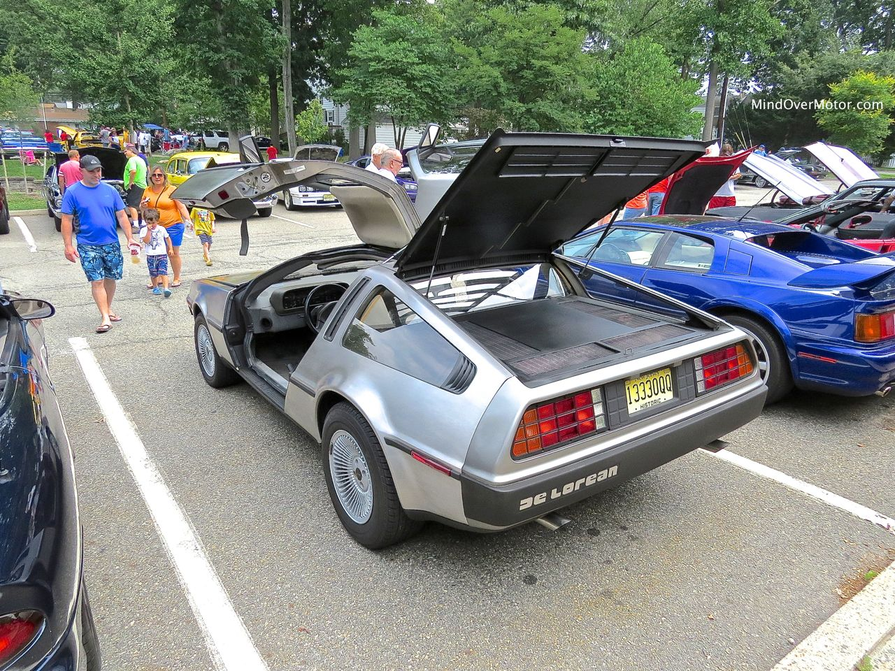 DeLorean DMC-12 Rear