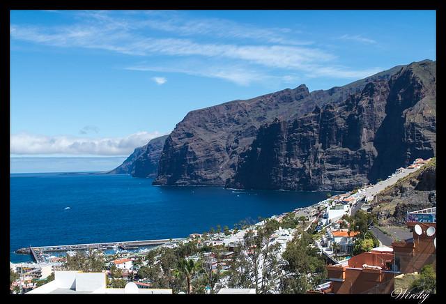 Tenerife Santiago del Teide acantilados los Gigantes Vilaflor - Acantilados de los Gigantes desde mirador de Archipenque