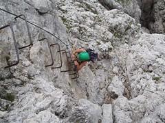 Starting the climb Image
