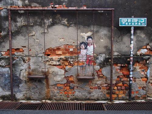 ペナン ストリートアートに魅せられて