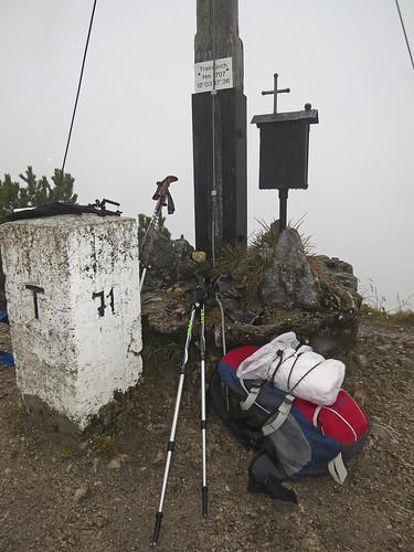 Trainsjoch summit