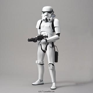 《星際大戰》組裝模型系列「1/6比例」帝國風暴兵 スター・ウォーズ ストームトルーパー 1/6スケール