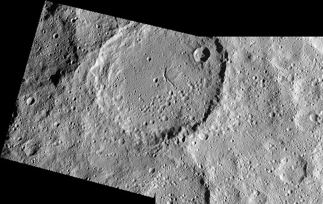 Cracked Ceres Crater
