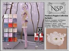 NSP Pandora's Poppies Camisk & Boot - V3