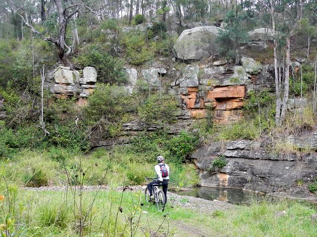 Rock Formation - Lagoon Creek