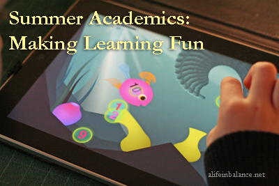 Summer Academics: Making Learning Fun