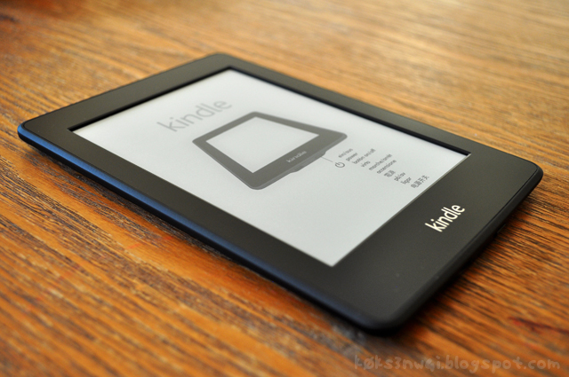Kindle Fresh Out of the Box