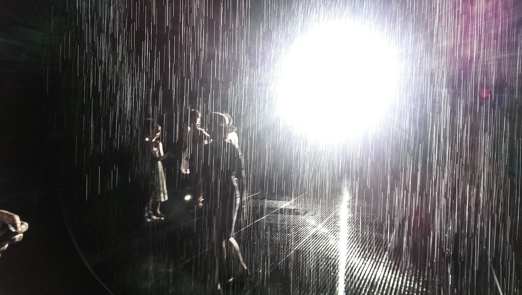 MoMA's Rain Room