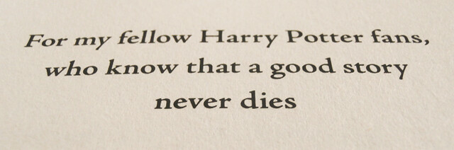 Harry-A-History-dedication