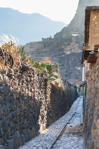 sunset mountains peru architecture buildings evening canal cusco ollantaytambo andesmountains