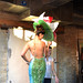 Water Lily Dress (Repurposed Runway) by Eshi Otawara