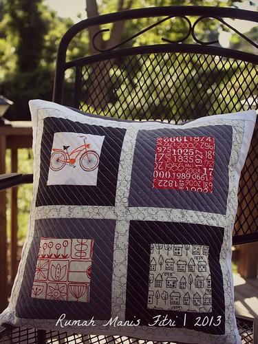 Pillow Block by Fitri D. // Rumah Manis