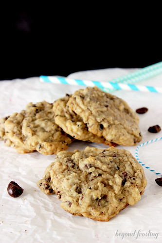 Chocolate Espresso Bean Cookies - Beyond Frosting