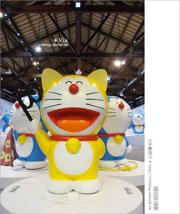 【高雄哆啦a夢展覽2013】來去高雄駁二藝術特區~找哆啦A夢旅行去!12
