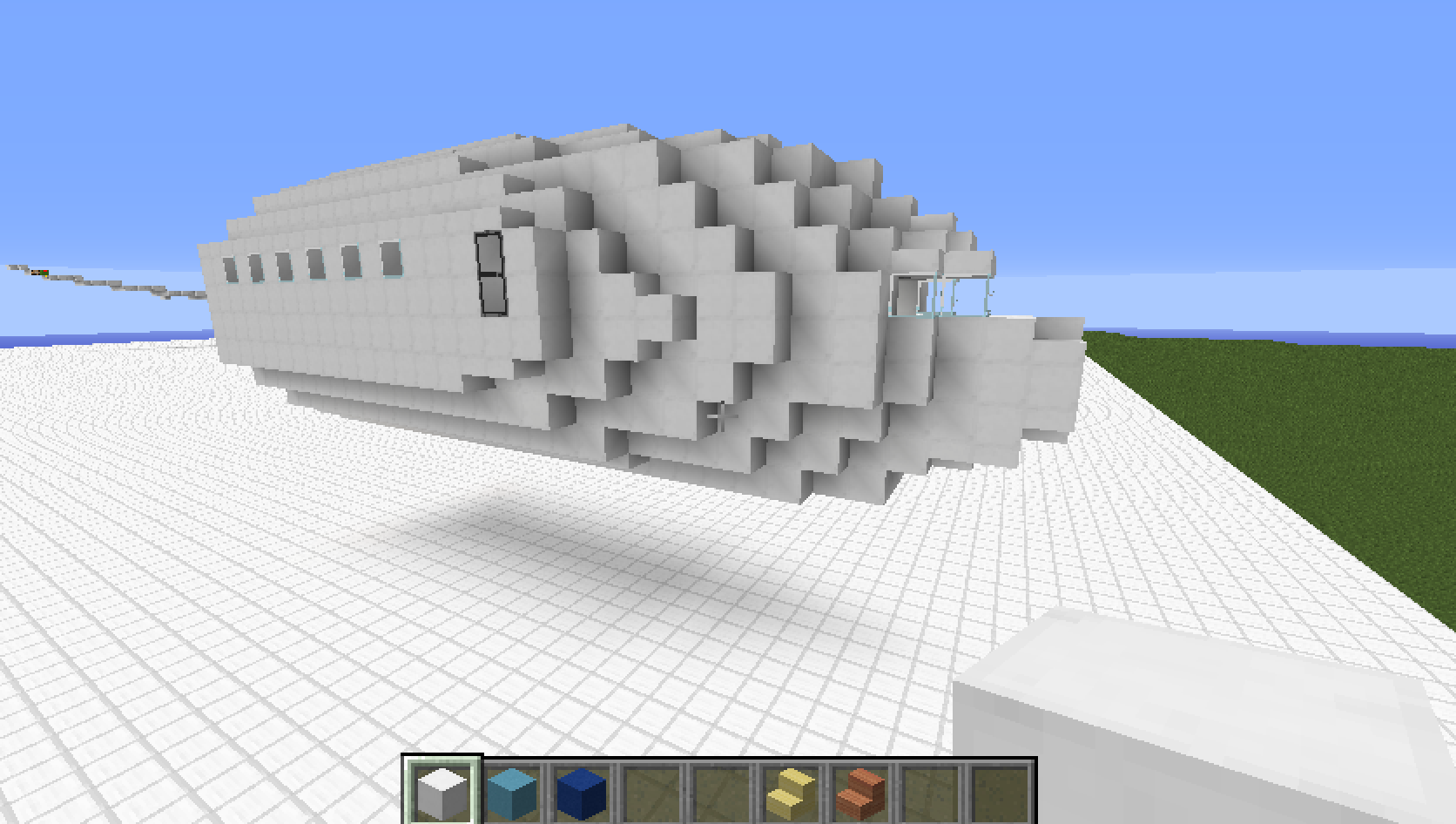 Build A Airplane In Minecraft
