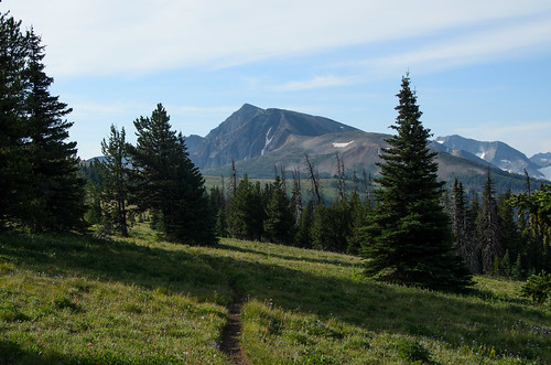 Ptarmigan Peak is still a ways off