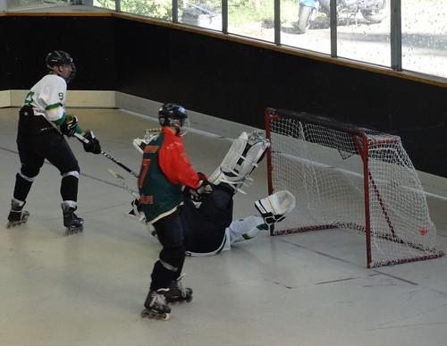 DSC04179 Spreewölfe Berlin v StraTus Hohenschönhausen, skater hockey