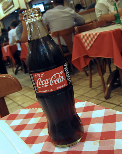 Coca-Cola 290 ml new glass bottle in Brazil by roitberg